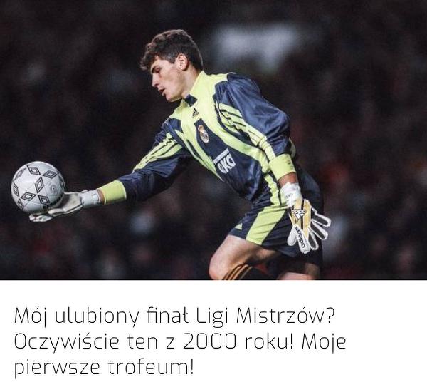 Ulubiony finał Ligi Mistrzów Ikera Casillasa
