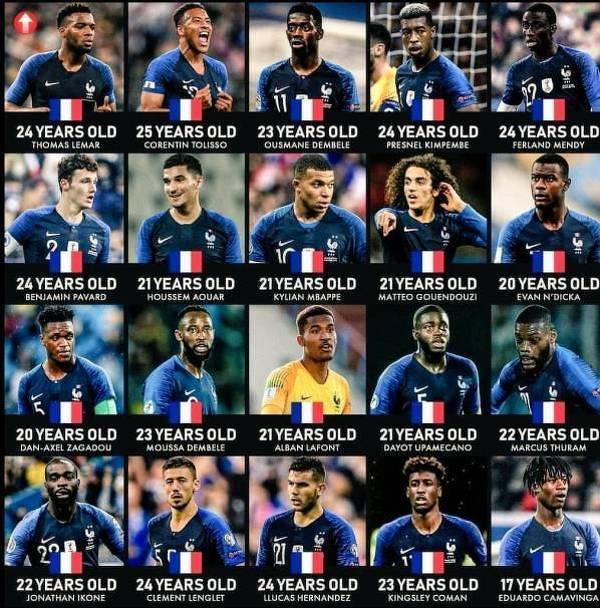 Reprezentacja Francji nie musi obawiać się o swoją przyszłość