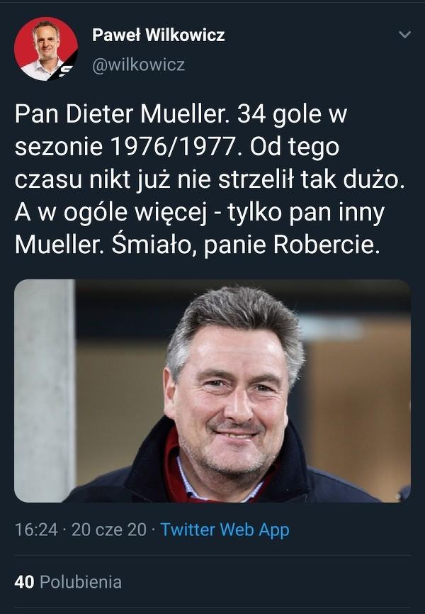 Mueller wciąż jest w zasięgu