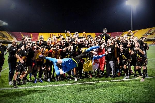 Benevento awansowało do Serie A