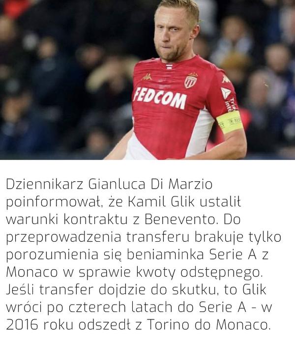 Kamil Glik może zagrać w Serie A