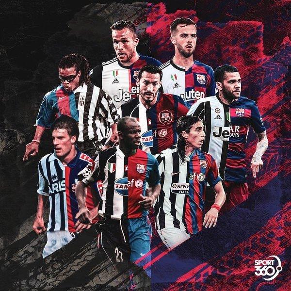 Juventus i Barcelona mają nieco wspólną historię, jeśli chodzi o najlepsze talenty