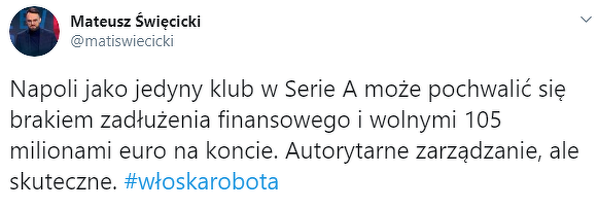 Oszczędzają pewnie, aby dać na nowy kontrakt dla polskiego De Bruyne