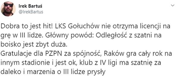 Takie rzeczy tylko w polskiej piłce