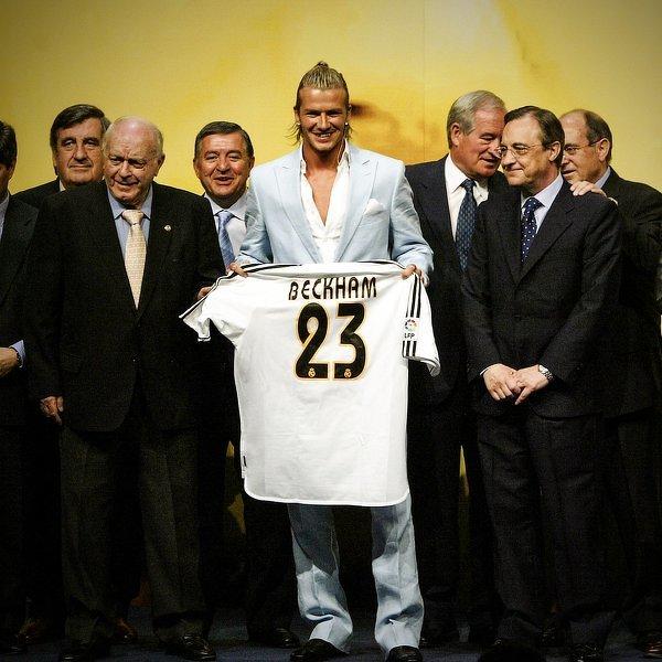 Dokładnie 17 lat temu David Beckham został zaprezentowany jako nowy piłkarz Realu Madryt