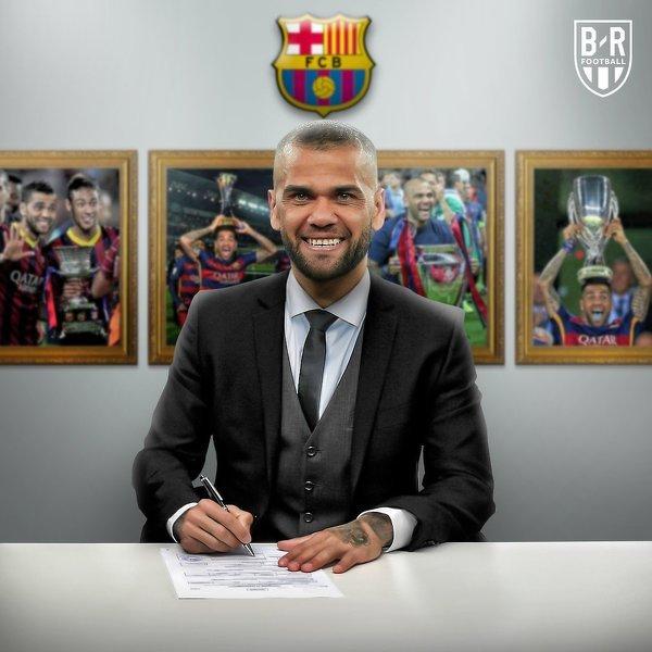 Dokładnie 12 lat temu Dani Alves podpisał kontrakt z FC Barceloną