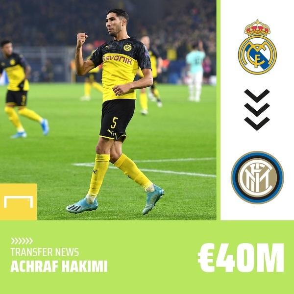 Oficjalnie: Achraf Hakimi piłkarzem Interu Mediolan!