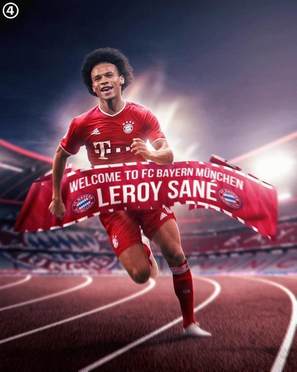 Leroy Sane dopiął swego