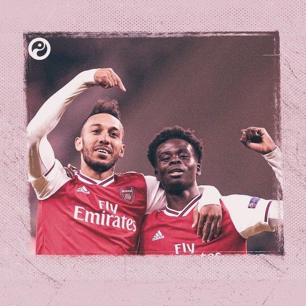 Kto jest przyszłością Arsenalu? Aubameyang podpowiada