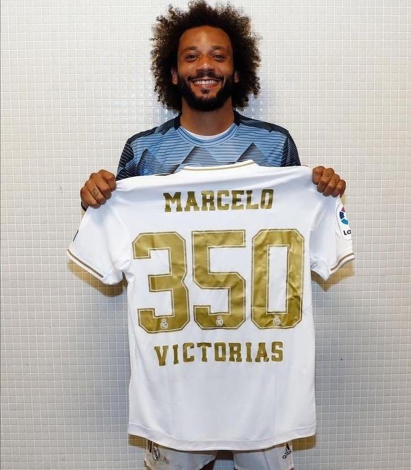 Marcelo zanotował już 350 zwycięstw w barwach Realu Madryt