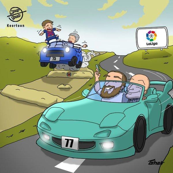 Wyścig o mistrzostwo La Liga