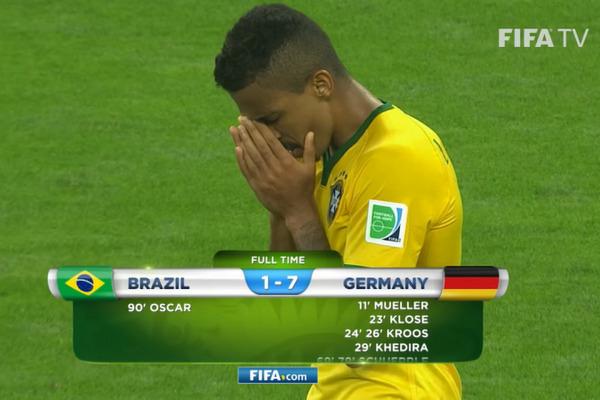 Dokładnie 6 lat temu Niemcy rozgromili Brazylię 1-7