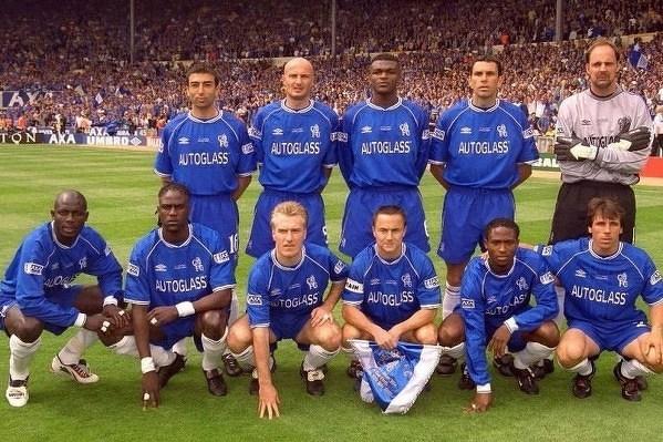 Chelsea już w 2000 roku miała mocny skład