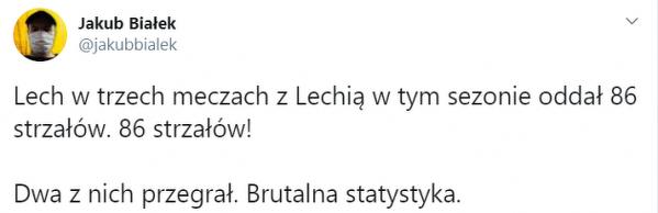 Fatalna skuteczność Lecha