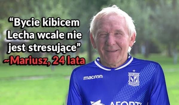 Kibice Lecha po przegranym meczu Pucharu Polski