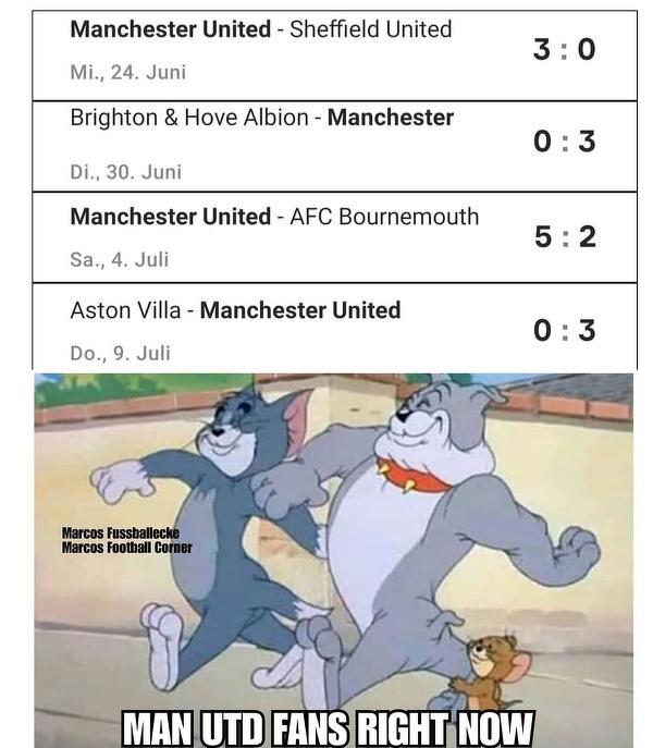 Kibice Manchesteru United po ostatnich meczach swojej drużyny