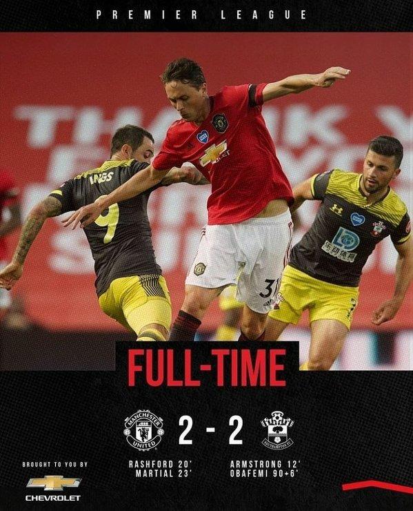 Koniec dobrej serii Manchesteru United