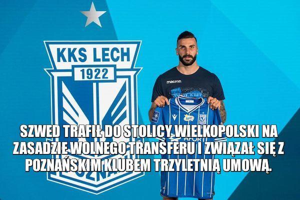 Mikael Ishak piłkarzem Lecha Poznań