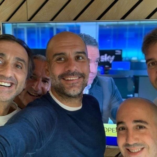 Takie tam selfie po ogłoszeniu decyzji w sprawie gry w Lidze Mistrzów