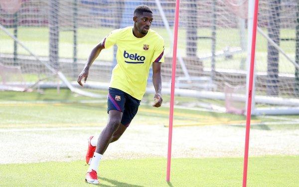 Ousmane Dembele wrócił do treningów