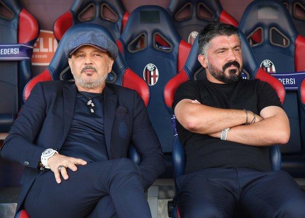 Sinisa Mihajlovic i Gennaro Gattuso - kiedyś świetni piłkarze, dzisiaj trenerzy