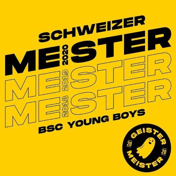 Young Boys Berno po raz 3. rzędu i 14. w historii Mistrzem Szwajcarii