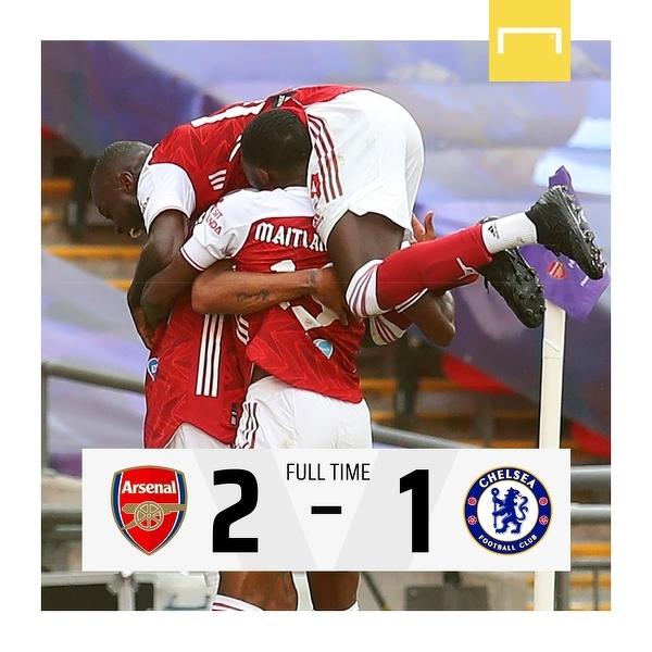 Arsenal wygrywa Puchar Anglii