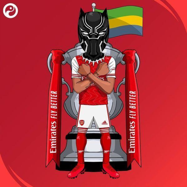 Aubameyang pierwszym afrykańskim piłkarzem, który jako kapitan podniósł FA Cup