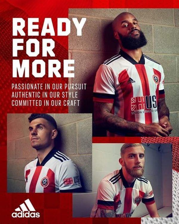 Sheffield United zaprezentowało domowe stroje na sezon 2020/21