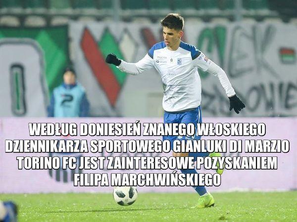 Filip Marchwiński zamieni Ekstraklasę na Serie A?
