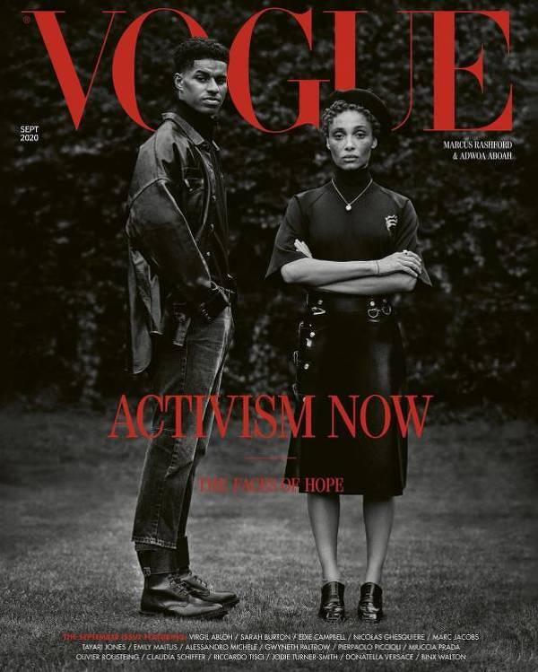Rashford na okładce brytyjskiego Vogue'a