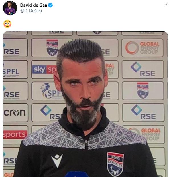 De Gea znalazł swojego brata bliźniaka
