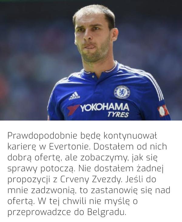 Ivanovic może wrócić do Premier League