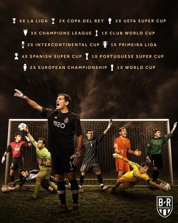 Kariera Casillasa to pasmo sukcesów
