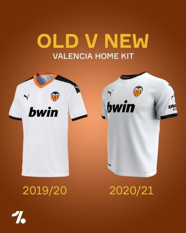 Tak będą wyglądały w nowym sezonie domowe koszulki Valencii