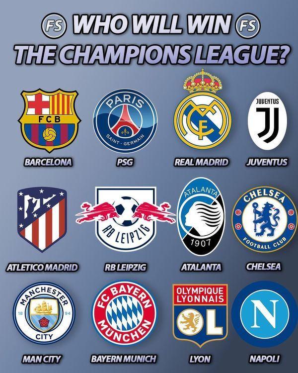 Która drużyna wygra Ligę Mistrzów?