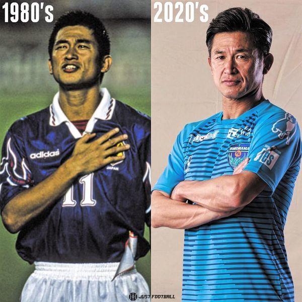 Kazuyoshi Miura gra od zawsze