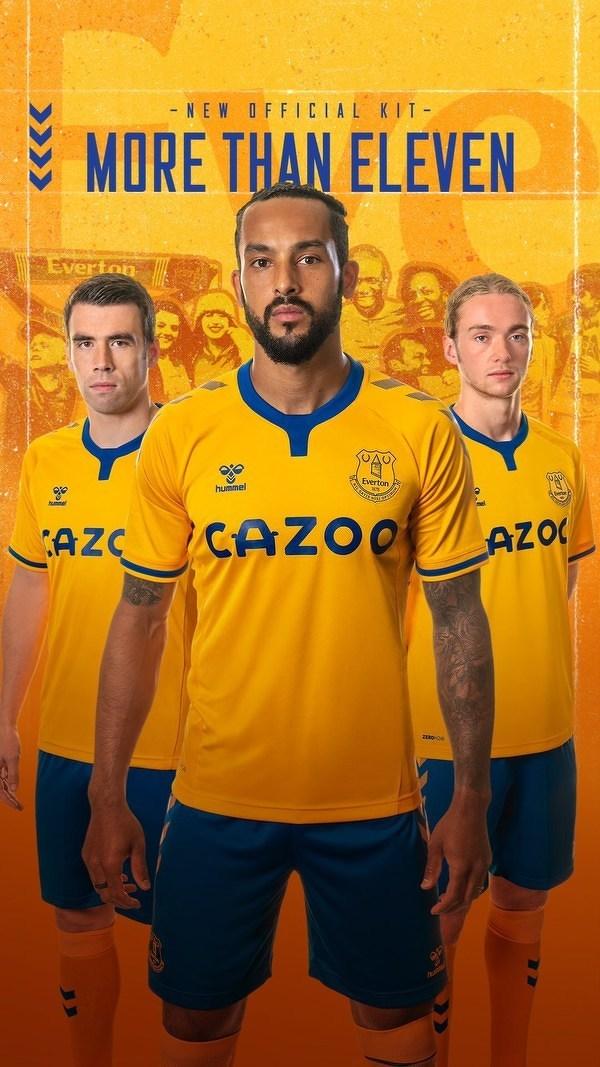 Tak wyglądają wyjazdowe koszulki Evertonu na nowy sezon Premier League