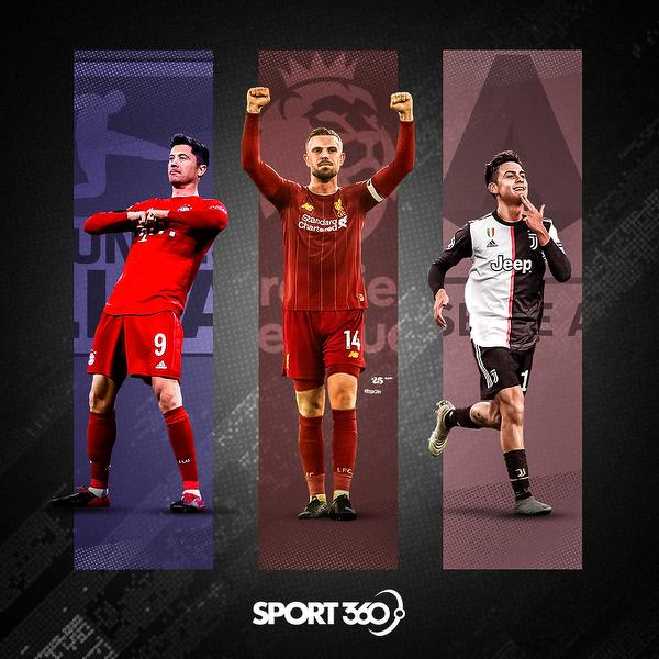 Najlepsi zawodnicy Bundesligi, Premier League i Serie A