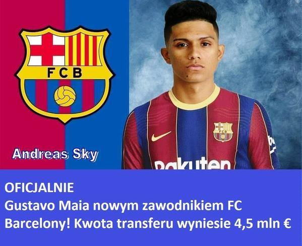 Nowy zawodnik Barcelony