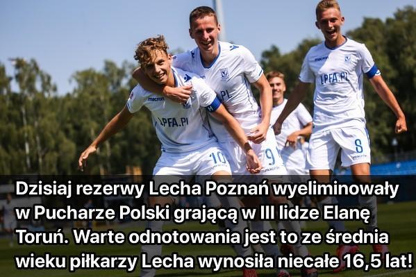 Po raz kolejny Lech Poznań pokazał, że ma zdolną młodzież