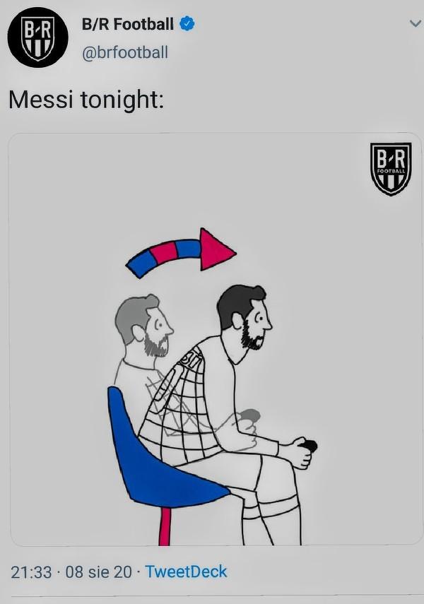 Messi wszedł w hard mode