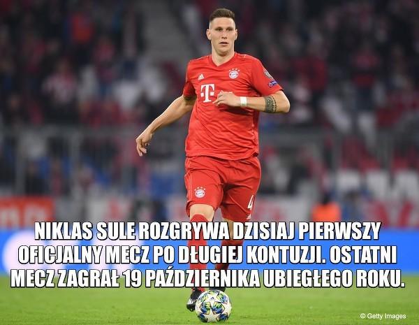 Niklas Sule powrócił do grania