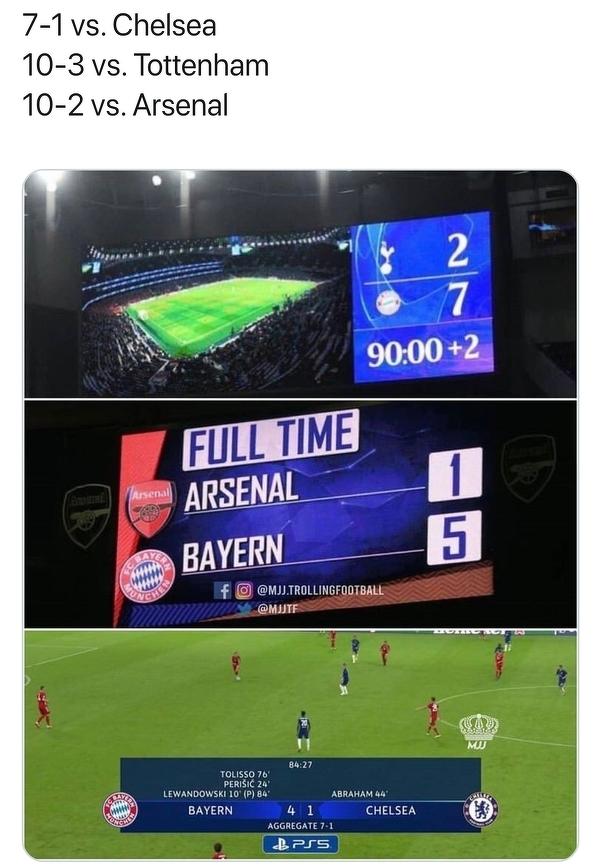 Bayern ładnie wyjaśnił londyńskie kluby