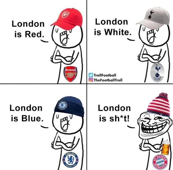 Bayern lubi grać w Londynie