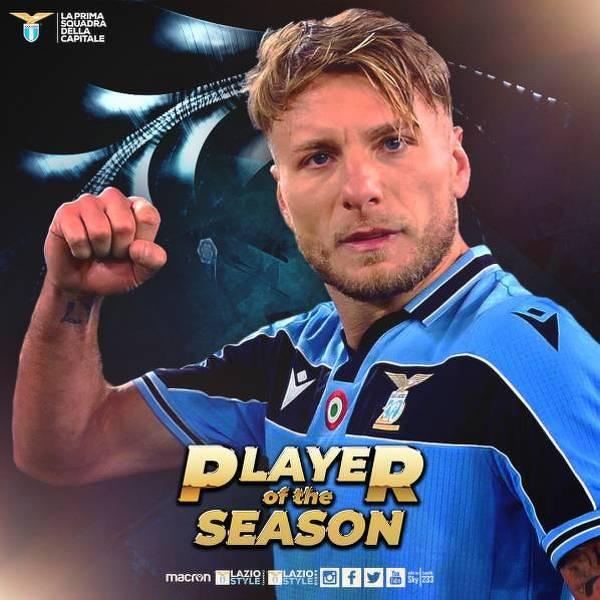 Immobile piłkarzem sezonu w Lazio