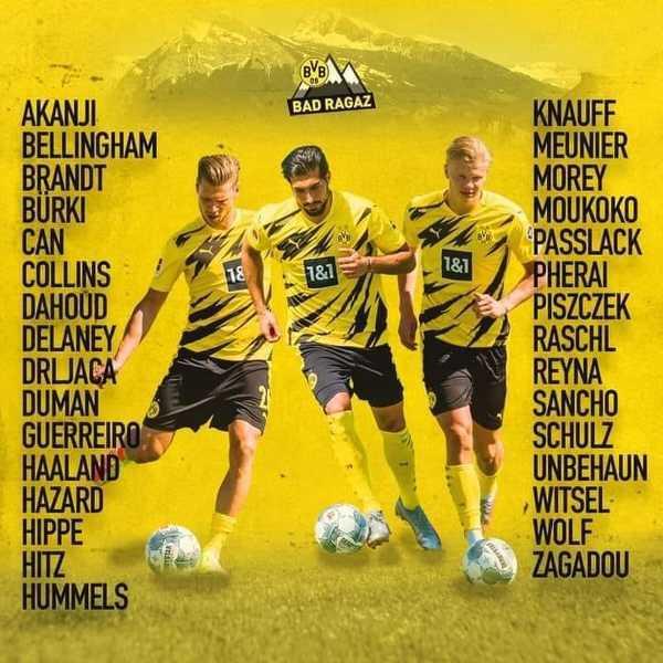 Jadon Sancho włączony do kadry BVB na obóz przygotowawczy. Czyżby został w klubie na kolejny sezon?