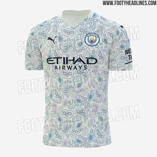 Tak ma wyglądać trzeci strój Manchesteru City na sezon 2020/21