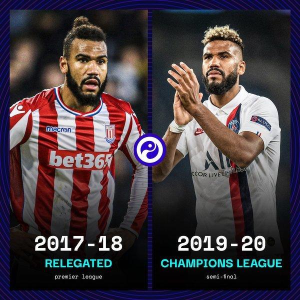 Dwa sezony temu spadł z ligi ze Stoke, wczoraj strzelił gola na wagę awansu do półfinału Ligi Mistrzów
