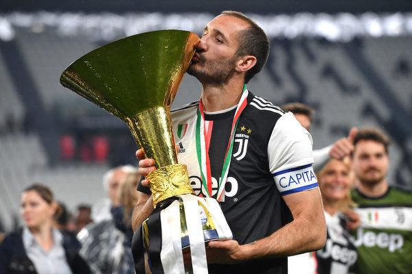 Kapitan Juventusu i reprezentancji Włoch Giorgio Chiellini świętuje 36 urodziny